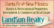 Santa Fe, NM Ranch, Investment and commercial property real estate